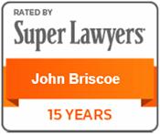 John Briscoe Super Lawyer Badge